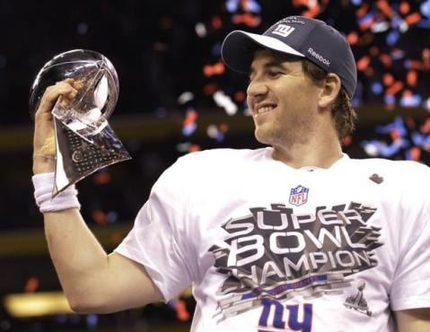 If Eli want to see this again, he's going to have to start playing like it.