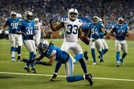 Vick Ballard has been a great addition for this offense as Donald Brown battles injury.