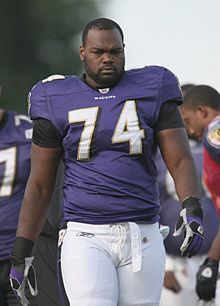Michael Oher, Mr. Blind side, has moved to Right Tackle, a much better place for him to protect Flacco.