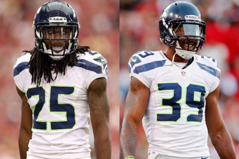 Sherman and Browner make a formidable tag team of defensive backs.