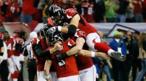 Matt Bryant hits the game winner to send Atlanta to the 'Ship.