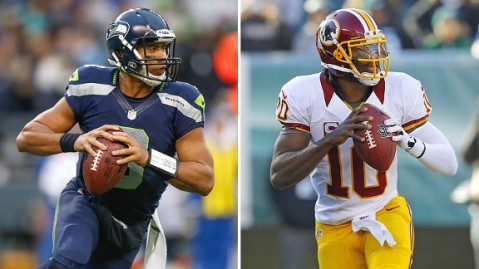 Russell or RG III? Both have shown they belong in this league.